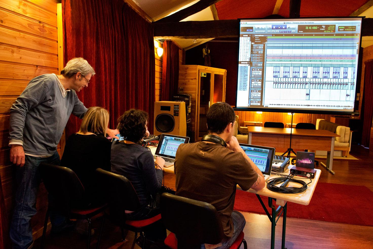 Initiation Protools pour la création musicale