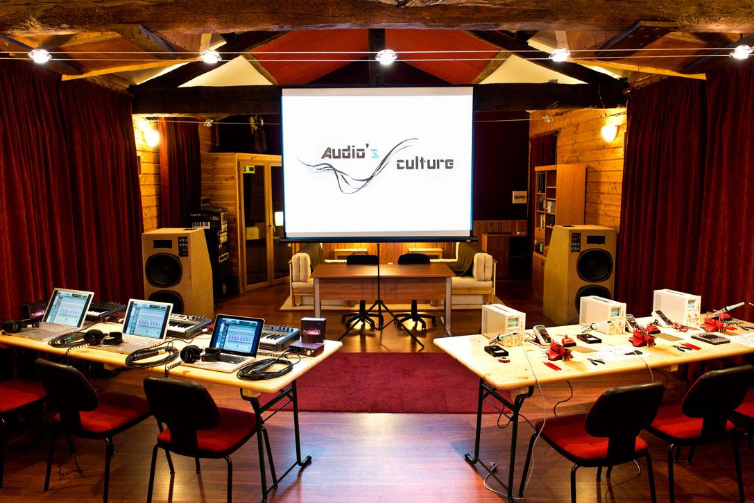 Salle de classe Audio's Culture